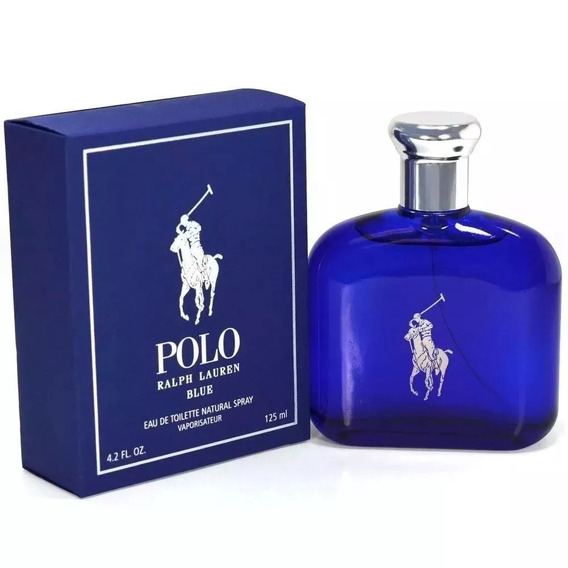 Half Lauren Polo Blue Masc 125ml