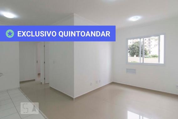 Apartamento No 4º Andar Com 2 Dormitórios E 1 Garagem - Id: 892950861 - 250861