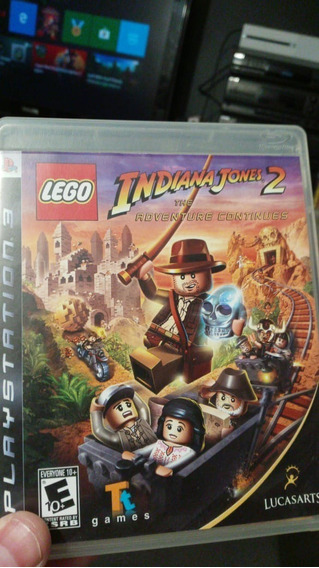 Lego Indiana Jones 2 - Ps3 Midia Fisica