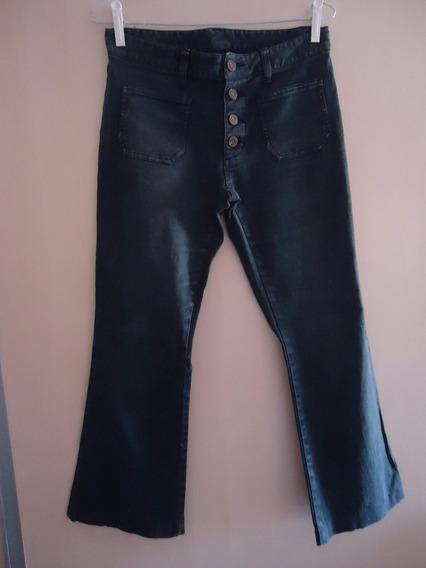 Calça Jeans Feminina Preto 36/38 Seminova