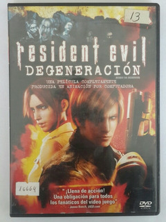 Pelicula Resident Evil: Degeneración - Dvd Original