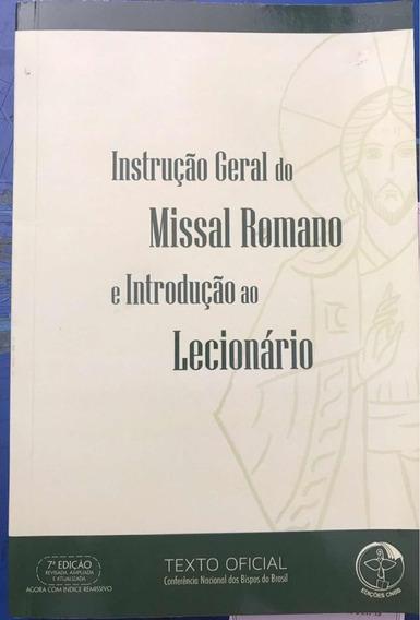 Livro Introdução Geral Do Missal Romano