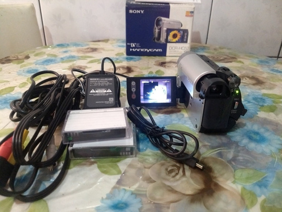 Filmadora Sony Vendo E Troco Por Câmeras Digital Q Me Agrade