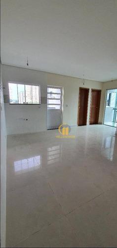 Lindo Apartamento Com 2 Dormitórios À Venda, 55 M² Por R$ 380.000 - Vila Carrão - São Paulo/sp - Ap0202