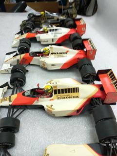 Lote F1 Airtson Senna Minichamps Anos 80 1/18 Raríssimos
