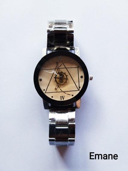 Relógio Masculino Social Aço Inox