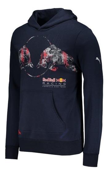 Moletom Puma Red Bull Racing Graphic Marinho