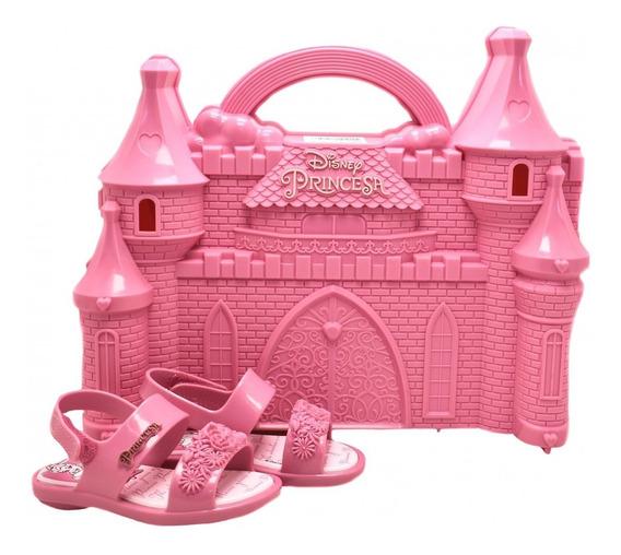 Sandália Infantil Princesas Castelo Real 21863