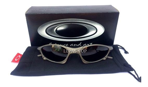 Oculos Oakley Penny Xmetal Lente Black Pretra + Lente Extra