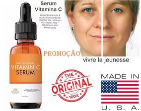 Hialuronico Ac. Serum Vitamina C Clareador E Anti- Rugas