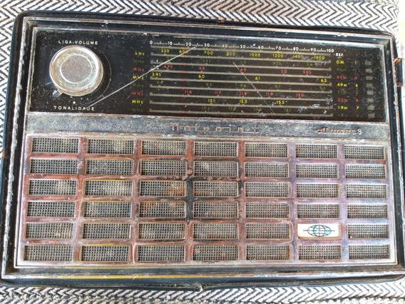 Rádio Hotpoint All Wave 8 General Eletric Capa De Couro