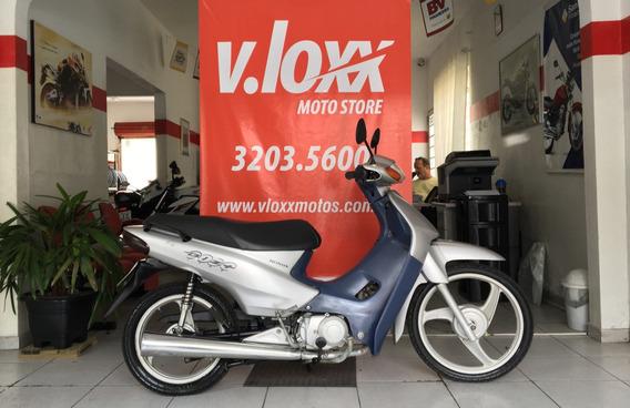Honda Biz C 100 Es Prata 2005