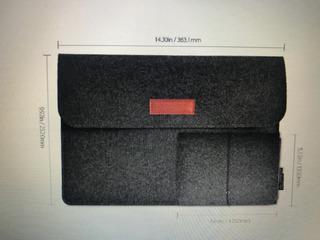 Funda Para Macbook De 13´y Compatible Con Otras Notebooks