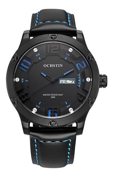 Reloj Ochstin Gq052 Lujo Cuero # 1