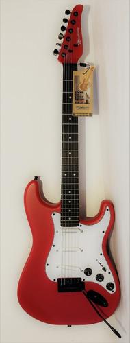 Guitarra Eléctrica Beginning - Incluye Funda Y Accesorios