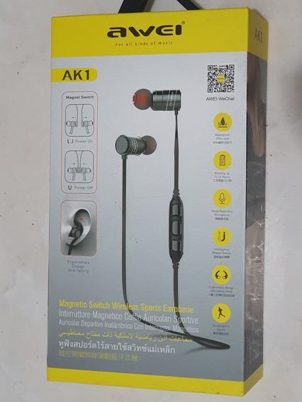 Fone De Ouvido Awei Ak1 Bluetooth