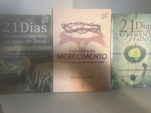 Kit De 3 Livros Da Serie 21 Dias Do Pr. Aluizio A. Silva Da