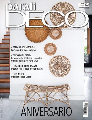 Revista  Para Ti Deco  Edicion Aniversario N° 176