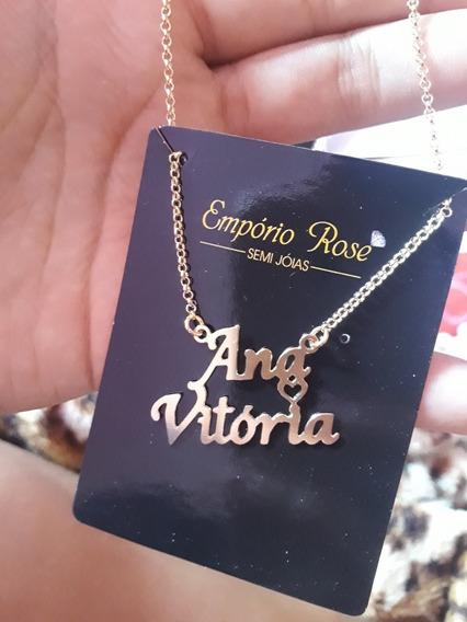 Cordão Com Nome Ana Vitória