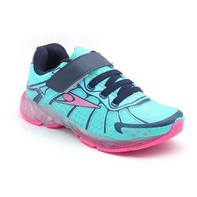 Tênis Klin Step Light Turquesa/pink 185.001000