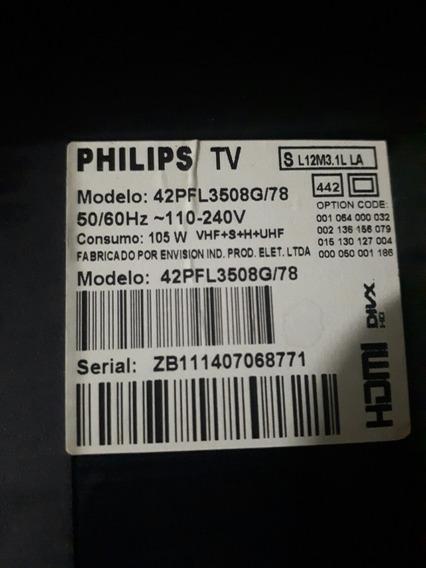 Placa Fonte Tv Philips 42pfl3508g/78