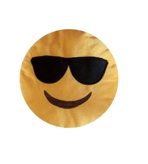 Namorados Emoji Óculo Sorriso Smile Pelucia Presentes