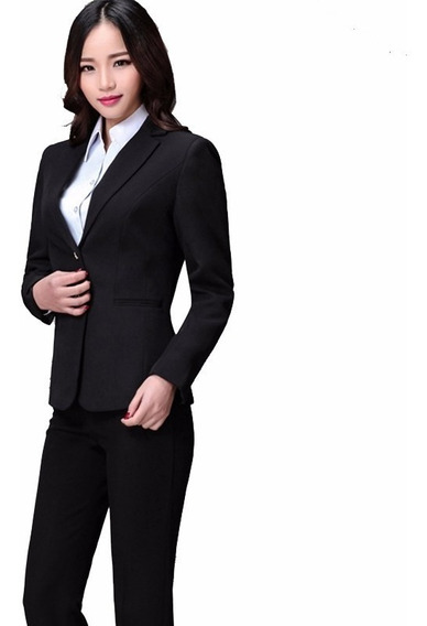 Blazer Feminino Two Way Uniforme Social