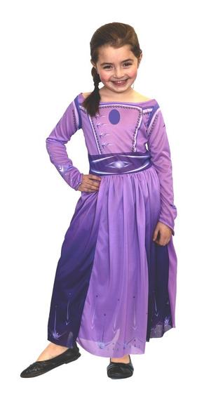 Disfraz Disney Frozen 2 Elsa Vestido Lila Newtoys Mundomania