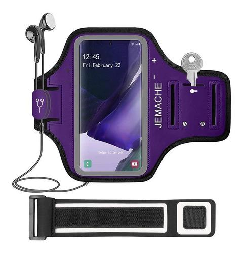 Galaxy Note 20, 20 Ultra Brazalete, Jemache Gym Running W...