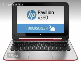 Notebook Hp Pavilion Dual Core 4gb 500gb Tela Touch Hd Win10