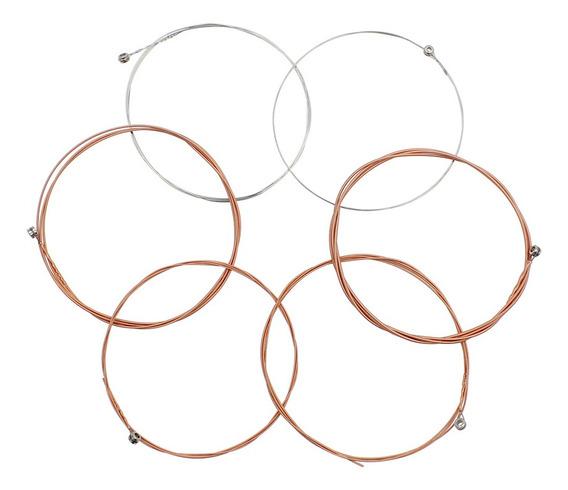 A?o De Bronze Fosforoso Liga Ferida 1-6 (.011-,052) 6pcs