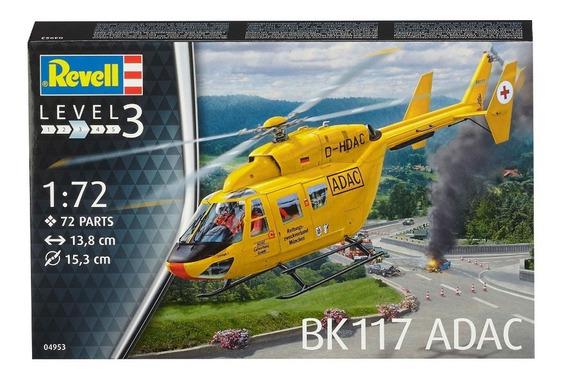 Maqueta Revell 4953 Helicoptero Bk 117 Adac Escala 1/72