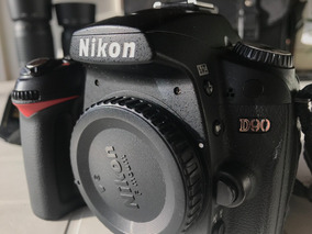 Nikon D90 Com Acessórios