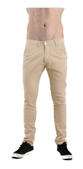 Pantalon Gabardina Chino Erinth Spandex | Bando (6447)