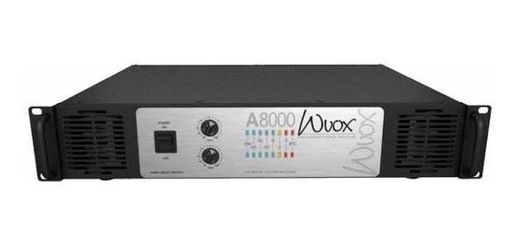 Machine Wvox A8000, 2000watts Rms, Garantia De 1 Ano, Brinde