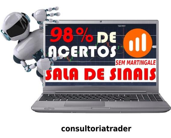 Robô Trader, Sala De Sinais Vip - Iq Option Opções Binárias