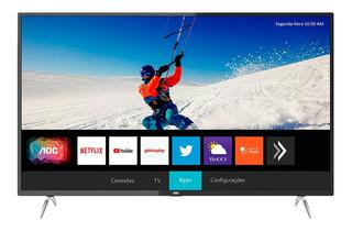 Smart Tv Led Aoc 50 Pulgadas Uhd 4k Wifi Netflix Mexx 3