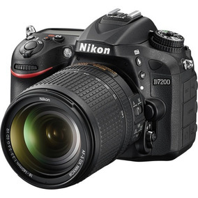 Câmera Nikon D7200 24.2 Mp Wi-fi Kit 18-140mm