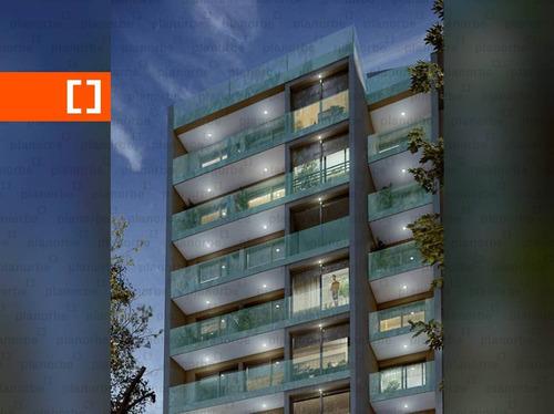 Venta De Apartamento Obra Construcción 1 Dormitorio En Pocitos, Vicènz Unidad 703