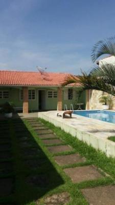 Casa Na Praia De Itanhaém, Com 2 Quartos E Piscina - 5326/p