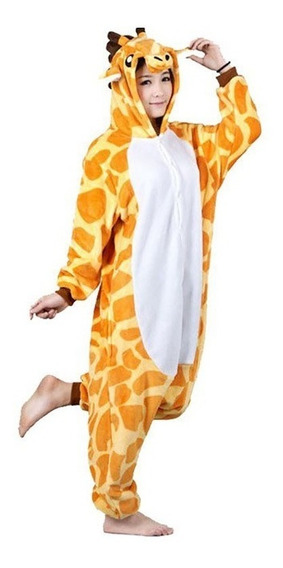 Kigurumi Pijama Mameluco Disfraz Jirafa Adulto Envío Gratis
