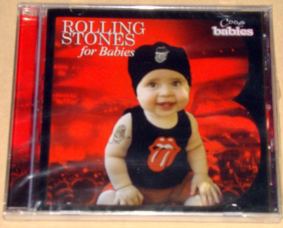 Walther Cuttini Jorge Pascuale Rolling Stones For Babies Cd