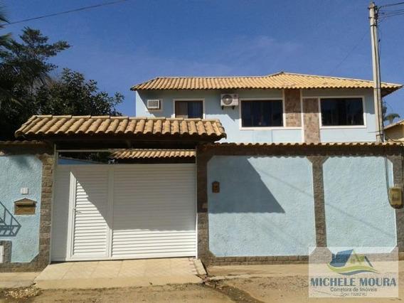Casa Duplex Para Venda Em Araruama, Centro, 3 Dormitórios, 1 Suíte, 2 Banheiros, 3 Vagas - 112