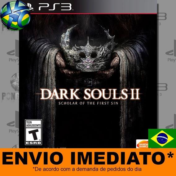 Jogo Ps3 Dark Souls Ii 2 Scholar Of The First Sin Psn Play 3