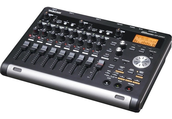 Tascam Dp-03sd Digital Portastudio 8-track Recorder Nuevo