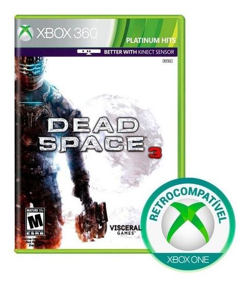 Dead Space 3 Xbox 360 Mídia Física Lacrado Nfe