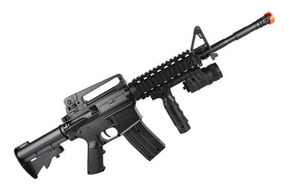 Fuzil M4 Rifle Airsoft Spring Saigo 6mm Mais Barato Brasil