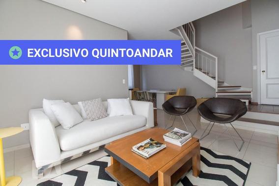Apartamento No 8º Andar Mobiliado Com 2 Dormitórios E 2 Garagens - Id: 892945300 - 245300