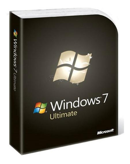 Windows7 Ultimate-chave Fpp-25 Dígitos Vitalícia+garantia