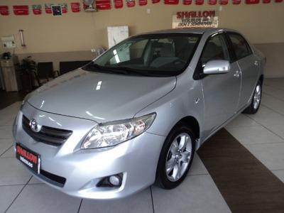 Toyota Corolla 1.8 16v Xei Flex 4p 2008/2009 Prata